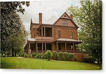 The Oaks - Home Of Booker T Washington Canvas Print by Mountain Dreams