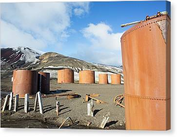 The Old Abandoned Whaling Station Canvas Print by Ashley Cooper