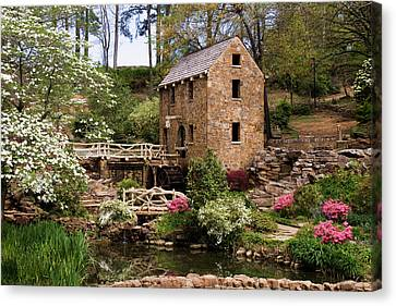 The Old Mill Canvas Print by Lana Trussell