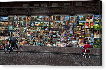 The Open Air Art Gallery Canvas Print