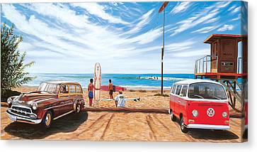 The Point San Onofre Canvas Print