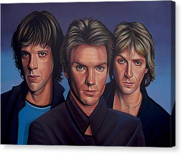 Breath Canvas Print - The Police by Paul Meijering