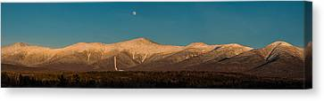 The Presidential Range White Mountains New Hampshire Canvas Print