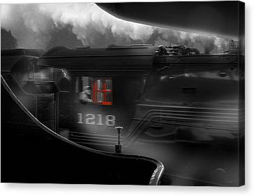 The Race Canvas Print by Mike McGlothlen