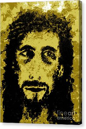 The Savior Canvas Print by Alys Caviness-Gober