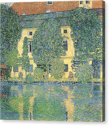 The Schloss Kammer On The Attersee IIi Canvas Print