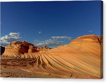 The Plateaus Canvas Print - The Second Wave In The Vermillion by Chuck Haney