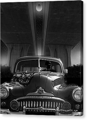 The Snake Canvas Print by Larry Butterworth