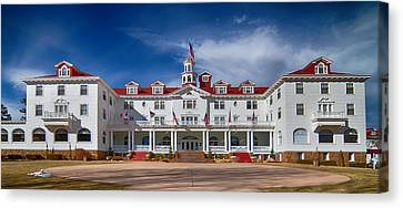 The Stanley Hotel Panorama Canvas Print by James BO  Insogna