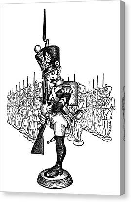 The Steadfast Tin Soldier Canvas Print