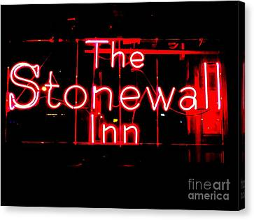 The Stonewall Inn Canvas Print by Ed Weidman