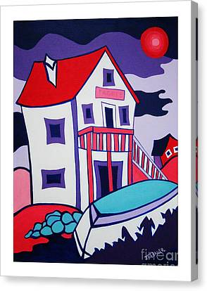 The Tackle House Canvas Print by Joyce Gebauer