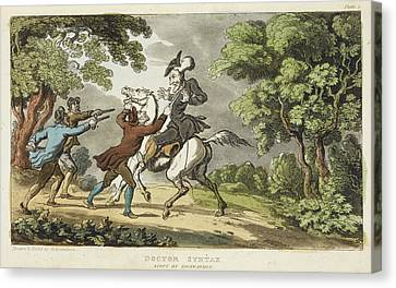 Pictur Canvas Print - The Tour Of Doctor Syntax by British Library