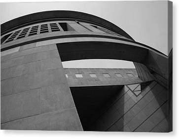 Canvas Print featuring the photograph The United States Holocaust Memorial Museum by Cora Wandel