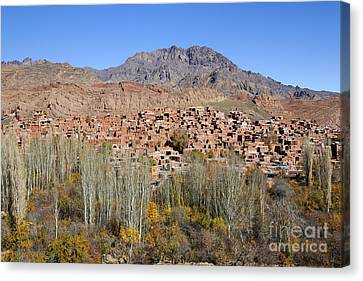 The Village Of Abyaneh In Iran Canvas Print by Robert Preston