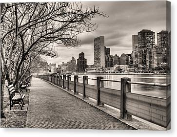 Sky Line Canvas Print - The Walk by JC Findley