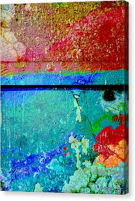 The Wall Abstract Photograph Canvas Print