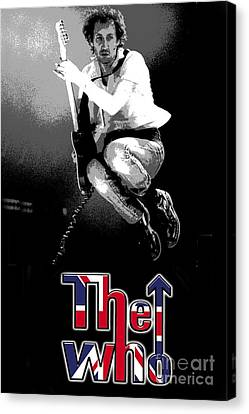 The Who Canvas Print by Doc Braham