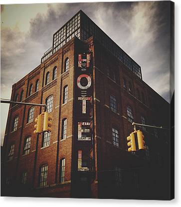 Natasha Canvas Print - The Wythe Hotel by Natasha Marco