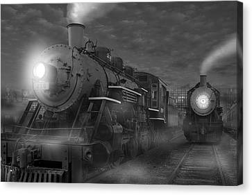 The Yard II Canvas Print by Mike McGlothlen