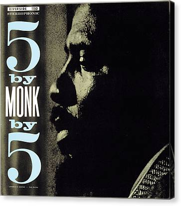 Thelonious Monk -  5 By Monk By 5 Canvas Print