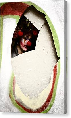 These Walls Have Eyes Canvas Print by Jorgo Photography - Wall Art Gallery