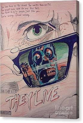 Ports Canvas Print - They Live by Christopher Soeters
