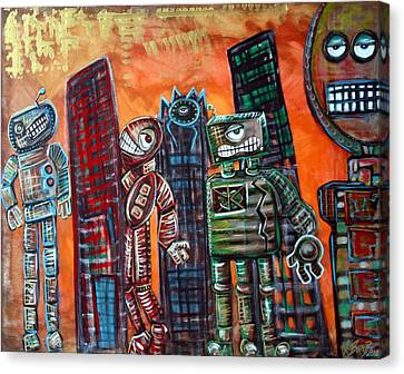 They Live Canvas Print by Laura Barbosa