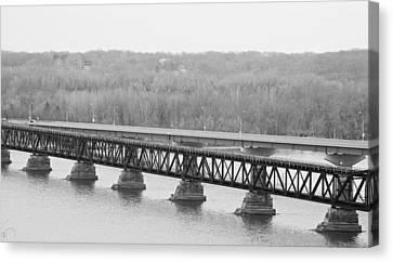 This Old Bridge Canvas Print by Joe Scott