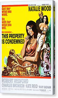 This Property Is Condemned, Us Poster Canvas Print by Everett