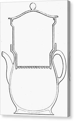 Thompson Drip Coffee Pot Canvas Print by Granger