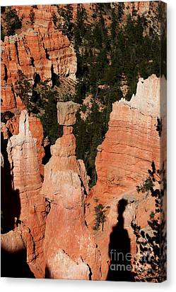 Canvas Print featuring the photograph Thors Shadow by Jemmy Archer