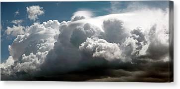 Thunderstorm Cloud Canvas Print by Detlev Van Ravenswaay