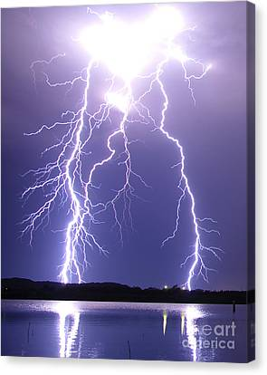 Thunderstruck Canvas Print