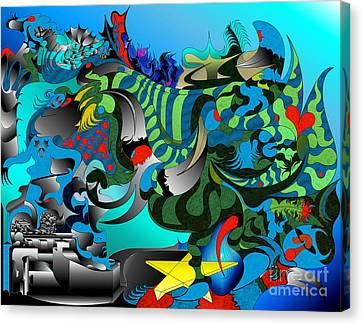 Tides Awry  Canvas Print