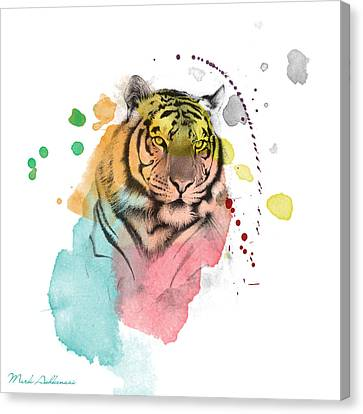 Tiger 12 Canvas Print