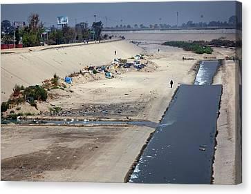 Tijuana River Canvas Print by Jim West