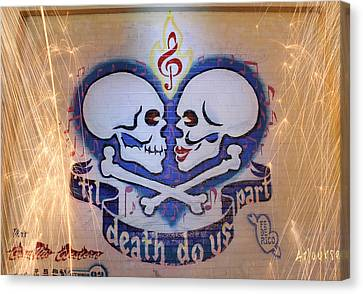 Til Death Do Us Part Canvas Print by Andrew Nourse