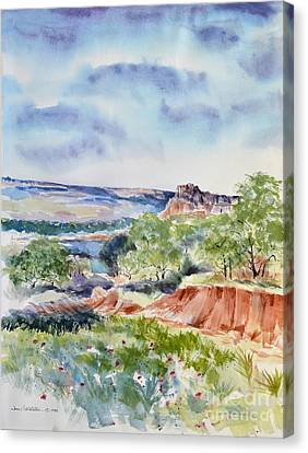 Timbercreek Canyon Canvas Print by Joan Hartenstein