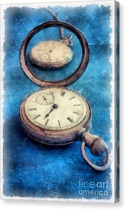 Time Canvas Print by Edward Fielding