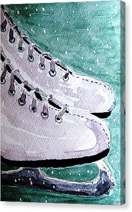 To Skate Canvas Print by Angela Davies
