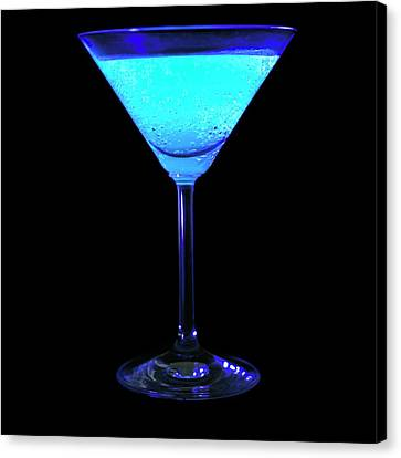 Tonic Water Fluorescing Canvas Print