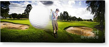 Top Flight Golf Canvas Print