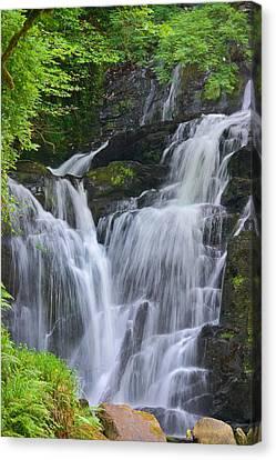 Torc Waterfall Killarney Ireland Canvas Print by Jane McIlroy