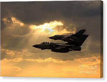 Tornado Role Demo Canvas Print by J Biggadike