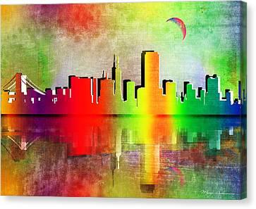 Toronto  Canvas Print by Mark Ashkenazi