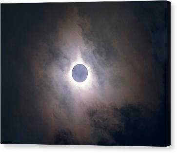 Solar Eclipse Canvas Print - Total Solar Eclipse by Babak Tafreshi