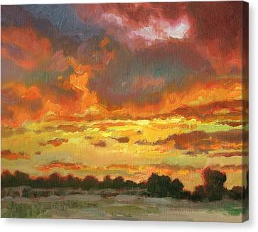 Touch Of Gold Canvas Print by Kevin  McCain