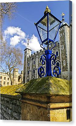 Early Spring Canvas Print - Tower Of London by Elena Elisseeva