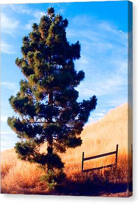 Tower Of Strength Canvas Print by Ron Regalado